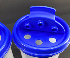 "Tupperware Modular Mates Round Shaker Replacement Seal Sapphire Blue 3.5"" New"