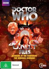Doctor Who: U.N.I.T Files | DVD 3-Disc Set - Region 4 | New & Sealed | Unit