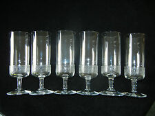 Kosta Glassworks - 6 Wine Glasses - Rare - condition MINT
