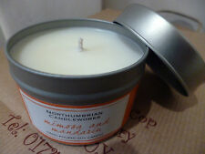 Northumbria Mimosa & Madarin vela olfateada Tin 15 horas tiempo de consumo de soja de cera