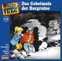"""TKKG """"154/DAS GEHEIMNIS DER BURGRUINE"""" CD NEW"""