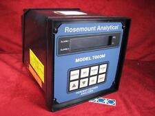 Rosemount Analytical Percent Oxygen Analyzer 115v AC Model 7003M with Manual