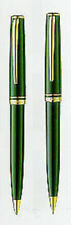Montblanc  Generation Green & Gold Ballpoint Pen & 0.7 Pencil Set In Box Mint *