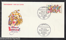 A 38) federal Germany 1972 FDC 748 - 150 años de colonia carnaval