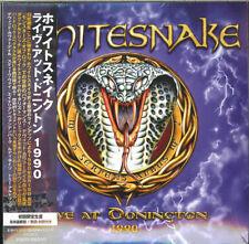 WHITESNAKE-LIVE AT DONINGTON 1990-JAPAN 2 MINI LP CD Ltd/Ed I50