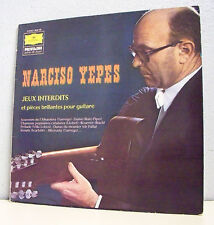 """33T Narciso YEPES Disque LP 12"""" Guitare JEUX INTERDITS"""