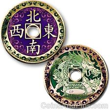 Chinese Dragon Geocoin For Geocaching (Travel Bug)