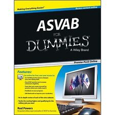 ASVAB For Dummies, Premier Plus (with Free Online Practice Tests) by Powers, Ro