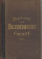 HISTORY OF BERKSHIRE COUNTY MA WITH BIOGRAPHICAL SKETCHES OF ITS PROMINENT MEN