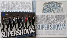 SUPER JUNIOR Autographed  2DVD of the concert Super Show 4 +photobook new korean