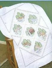 "NEW  lap quilt to be embroidered 38""X58(GREAT OUTDOORS)  JD."