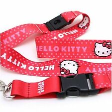 Licensed Sanrio Hello Kitty Lanyard w/ Key Chain Clip ID, badge accessory