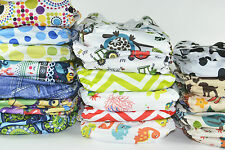 30 NAPPY ONLY PACK - BaeBaby Reusable Modern Cloth Nappies, Diaper (MCNs)