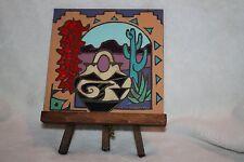 Hand Painted Mag Mor Art Tiles Santa Fe NM W/Easel