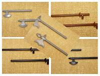 LEGO Minifig, Weapon *CHOOSE YOURS* Lance, Halberd, Axe etc CASTLE POINTY PARTS