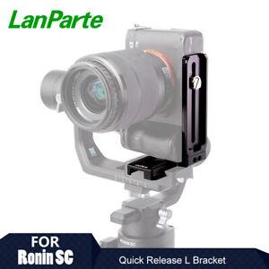Lanparte L Bracket Vertical Plate Holder for DJI Ronin SC Gimbal Video Camera