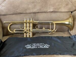 "Adams MT1 Marching Bb Trumpet .460 Bore 5"" Large Bell SCREAMER JAZZ LEAD Pro"