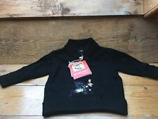 Paul Frank Designer Kids Jumper/Small Paul/Black/6 Months/Snowboarding Monkey
