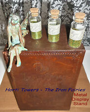 The Iron Fairies Rare Collectible - Metal Display Stand+ 2x FREE Finger Puppets!