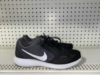 Nike Revolution 3 Mens Athletic Running Training Shoes Size 8.5 Black Gray White