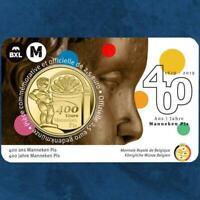 Belgien - 400 Jahre Manneken Pis - 2,5 Euro 2019 Coincard - Frankreich