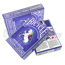 3 Decks X Bicycle Unicorn Playing Cards Rainbow Standard Index USPCC USA