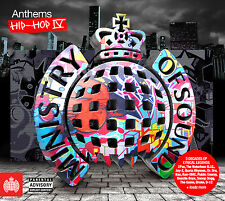 Various Artists : Anthems Hip-hop - Volume 4 CD (2014)