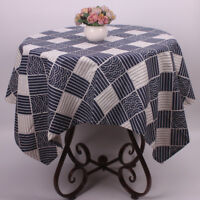 CURCYA Japanese Pattern Table Cloth Cover Restaurant Tea Store Tablecloth Decors