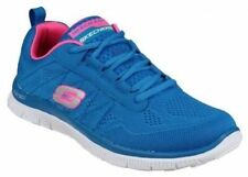 Zapatillas deportivas de mujer planos de color principal azul