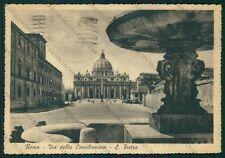 Roma Città del Vaticano Via della Conciliazione FG cartolina VK2235