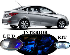 LED Package - Interior + License + Vanity + Reverse for Hyundai Accent (12 Pcs)