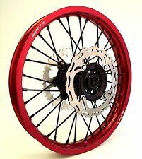 "WARP 9 CUSTOM CUSH DRIVE WHEEL SET 21"" 18"" HONDA CR125/250 CRF250R/X CRF450R/X"