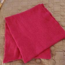 J. Crew Pink Knit Wide Infinity Scarf