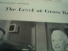 magazine cutting theatre 1959 alfred lunt wisconsin idea theatre lynn fontanne