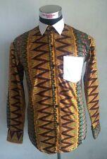 Gidi  Shirt African Ready to Wear Ankara Aztec Mens  Shirt