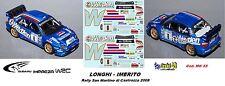 DECAL  1/43 - Subaru Imreza  WRC - P.LONHI - Rally S.M.Castrozza 2008