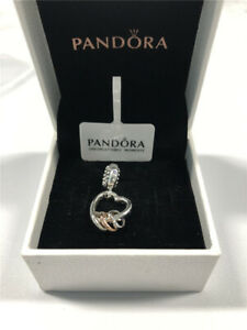 ALE S925 Silver Genuine Pandora Heart Full of Hearts Dangle Charm With Gift Box