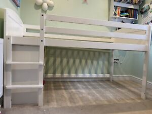 ASPACE Mid Sleeper White bed