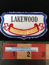 Vtg. Patch ~ LAKEWOOD COUNTRY CLUB ROCKVILLE MARYLAND Golf Country Club 59A1 ex