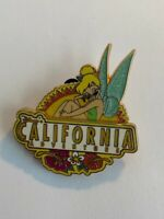 DLR Disney's California Adventure Tinker Bell Flowers Peter Pan Disney Pin (B2)