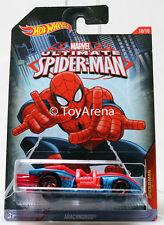 Hot Wheels Marvel Ultimate Spider-Man 2015 Arachnorod 1/64 Rare Die-Cast Car