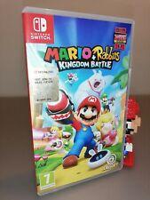 Mario + Rabbids Kingdom Battle Nintendo Switch pal ita like new pari al nuovo