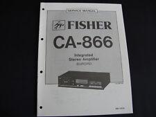 Original Service Manual Fisher CA-866