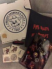 FIVE NIGHTS AT FREDDY'S FNAF PARTY FAVOR PACK BRACELET BAG TOKEN TATTOOS  PIZZA
