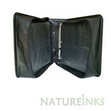 2 x NEW Neo 400 Synthetic Leather CD DVD discs storage carry wallet strong zip