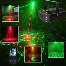 Dj Disco Strobe Light Led Laser Projector Sound Activated Party Stage Lighting