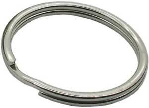 Metal Split Rings – 30mm diameter / Nickel Plated