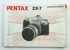 191611 Pentax Zx-7 Genuine Original User Instruction Manual Booklet