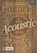 NEW! GUITARIST 358 Summer 2012 ACOUSTIC UK Buyers Guide Snowy White Alex Lifeson