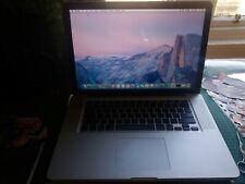 " Apple MacBook Pro 15.4"" ✔2.4Ghz Intel ✔8GB RAM ✔60GB SSD & 500GB HDD ✔Mac OS X"
